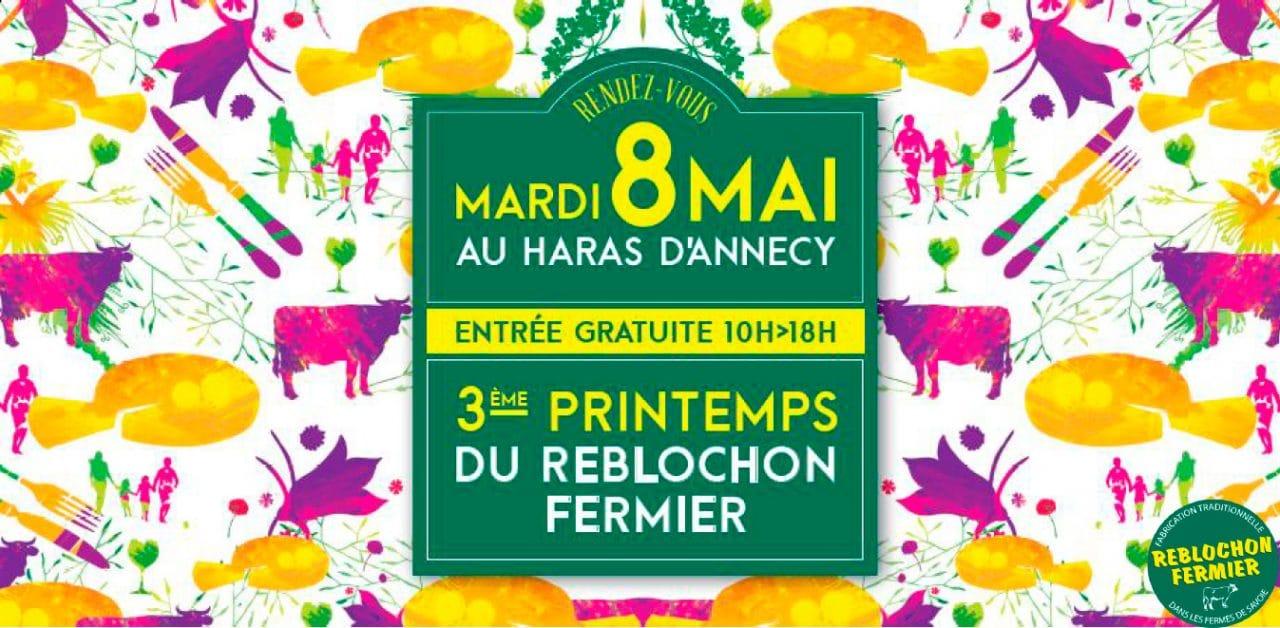 3ème édition du Printemps du Reblochon à Annecy
