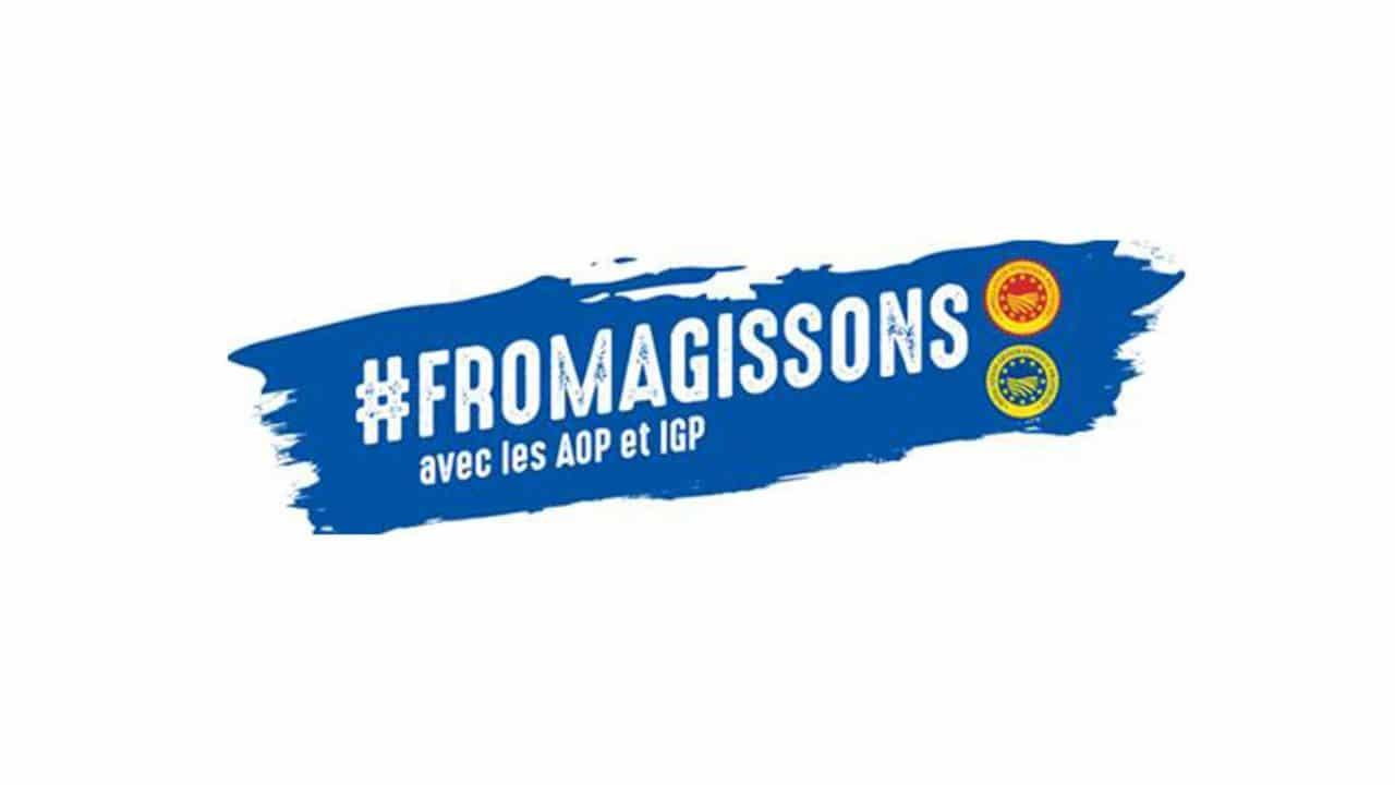 Ensemble avec les AOP et IGP françaises, #Fromagissons !