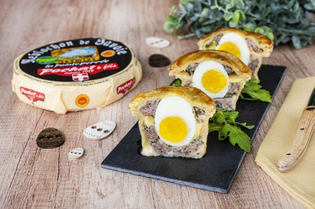 Recette paté pâques Reblochon de Savoie fermier Pochat et fils
