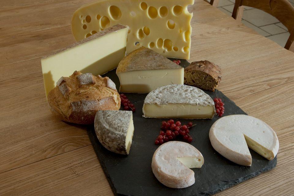Plateau fromages de Savoie AOP IGP dégustation