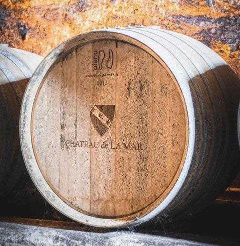 Vin Chateau de la Mar tonneau Pochat