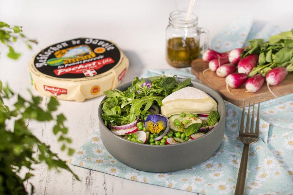 Salade Reblochon Fromage de Savoie recette printemps Pochat et fils